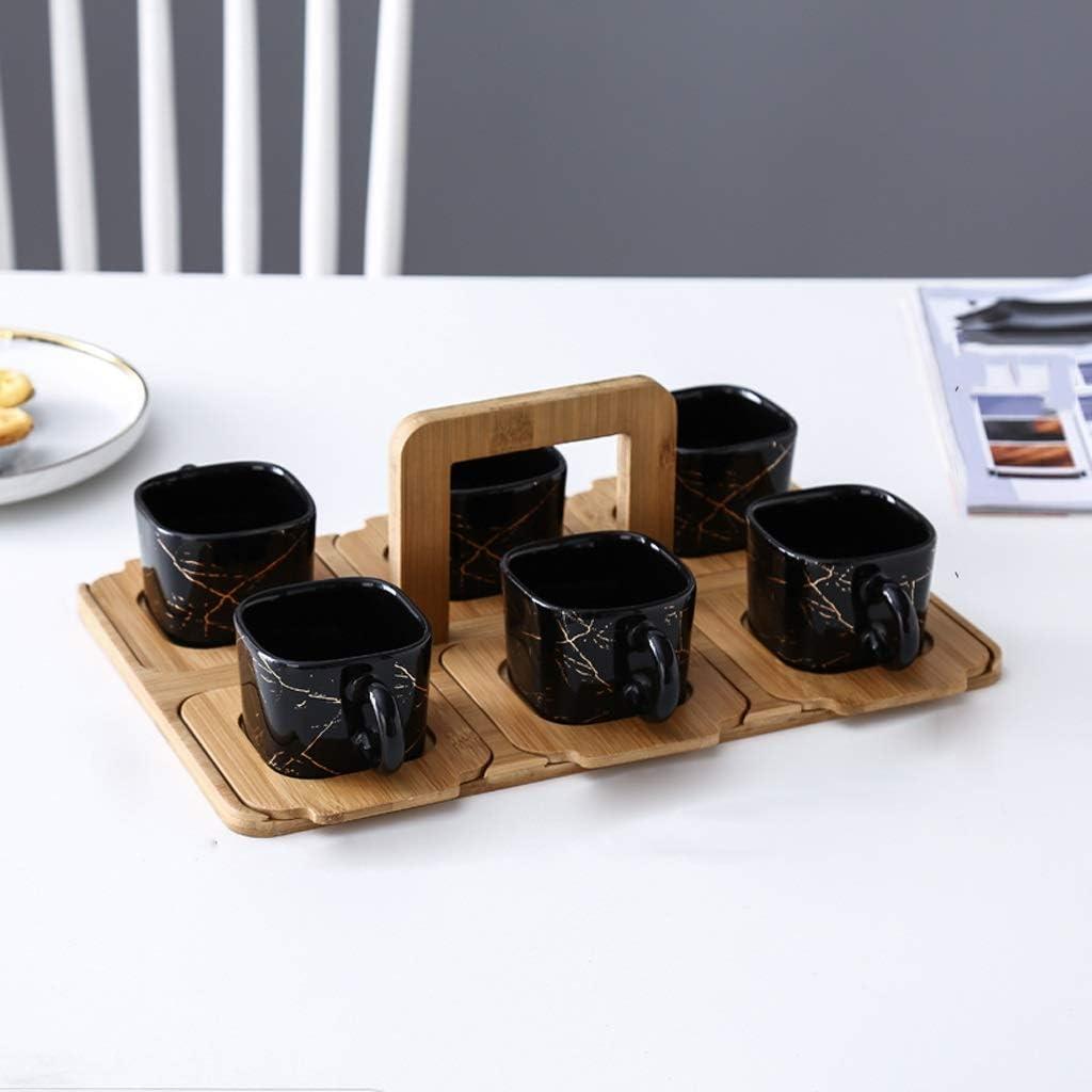 DIAOD Northern Europe Imitation Marble Ceramics w Special sale item New arrival Tea Set Kungfu