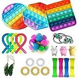 Freshwater Sensory Toys Set Anti-Ansiedad Juguete para Niños Adultos Juguetes Especiales Surtido para Regalos de Fiesta de Cumpleaños