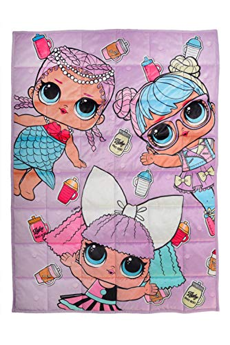 Franco Bedding Super Soft Plush Kids Weighted Blanket, 30
