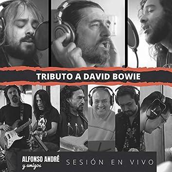 Alfonso André y amigos. Tributo a David Bowie, sesión en vivo en El Submarino del Aire