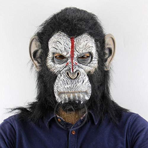 Krieg für den Planeten der Affen Cosplay Kostüme Caesar Latex Maske Gorilla Masken Halloween Fancy Ball Requisiten