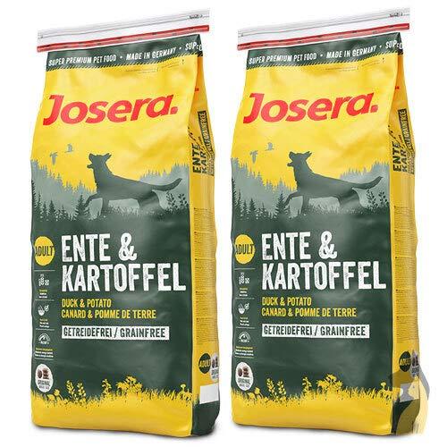 Josera 2 x 15 kg Ente und Kartoffel Hundefutter - Sparpaket