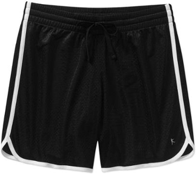 Danskin Now Women's Long Mesh Shorts
