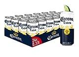 Corona Extra Lager Dosenbier, Einweg Lager Bier (24 X 0.33 L)