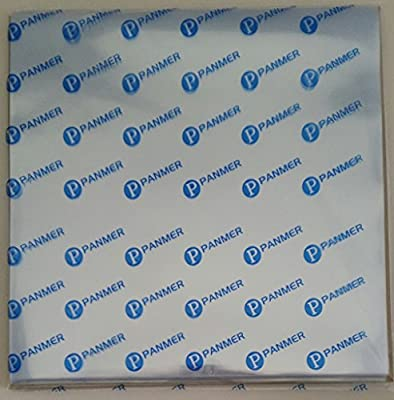 12 Inch Polypropylene Glass Clear Vinyl Record Sleeves Pack of 25