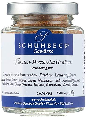 Schuhbecks Tomaten-Mozzarella Salz, 3er Pack (3 x 105 g)
