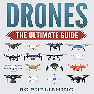 Drones: The Ultimate Guide audiobook cover art