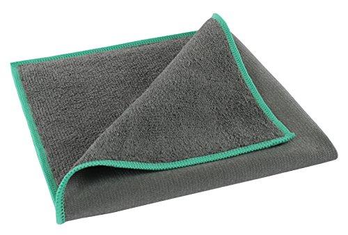 BELLANET High End Microfaser Glastuch 40x40cm für Spiegel, Fenster, Glas & Sanitär (1)