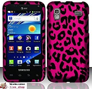For Samsung Captivate Glide 4g I927 (At&t) Rubberized Design Cover - Pink Leopard