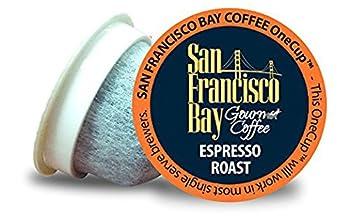 San Francisco Bay Coffee OneCup 72 ct Espresso Roast