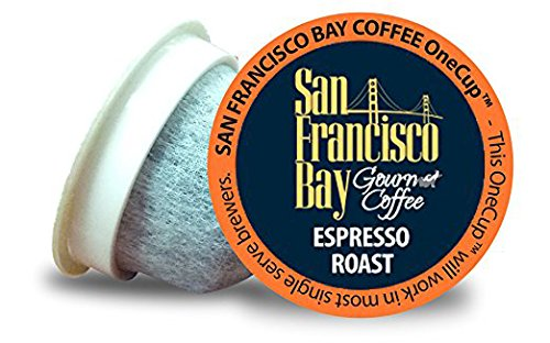 San Francisco Bay Coffee OneCup 72 ct. Espresso Roast