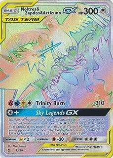 Moltres & Zapdos & Articuno Tag Team GX - 69/68 - Secret Rare - Hidden Fates