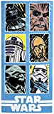 Jay Franco Star Wars Classic Grid Beach Towel