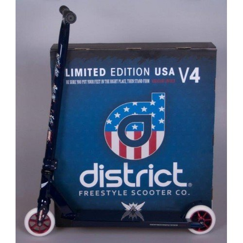 District - Patinete Scooter District Complete V4 100MM Uncle Sam