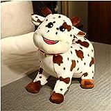 Peluche gigante de imitación de vaca, bonito cojín de vaca, almohada de vaca, suave, cojín grande, juguete para niños y niñas pequeñas, 348