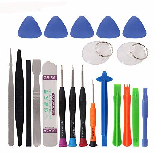 cohk 21in 1Mobile Phone Repair Tools Kit Spudger Pry Öffnung Werkzeug Schraubendreher Set für iPhone X 876S 6Plus Hand Tools Set