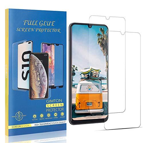 GIMTON Displayschutzfolie für Galaxy M80S, 9H Härte Kratzfest Panzerglasfolie, Ultra Transparente Schutzfilm aus Gehärtetem Glas für Samsung Galaxy M80S, 2 Stück