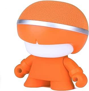Xoopar Boy Mini Wireless Bluetooth Speaker with Superior Sound and Rich Bass (Orange)