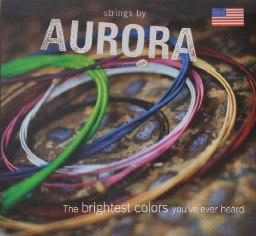 Aurora cuerdas para guitarra eléctrica, 11–50