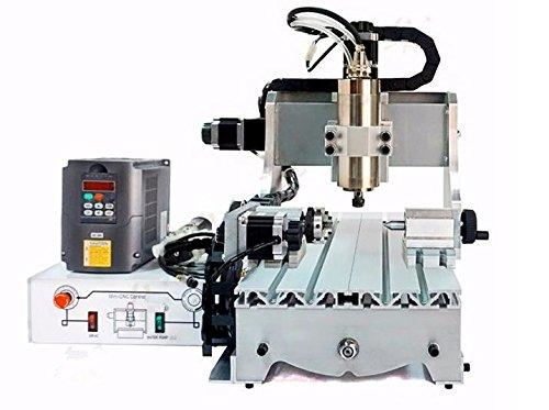 GOWE Mini fresadora CNC 4 ejes CNC enrutador de carpintería para corte de metal