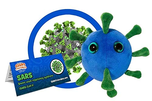 GIANTmicrobes SARS Plush
