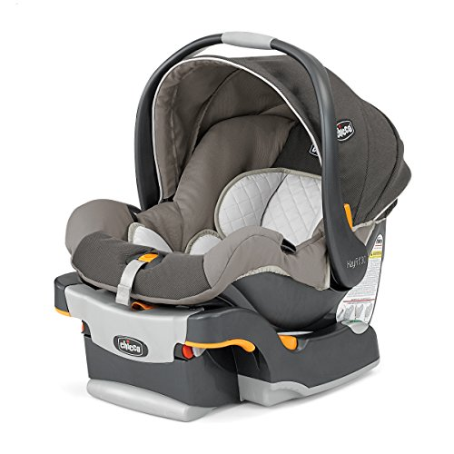 The Chicco Keyfit 30 is a perfect car seat for twins--its slender size allows them to be placed side-by-side! Perfect when preparing for twins!