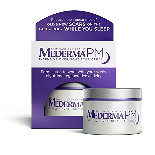 Mederma PM Intensive Overnight Scar Cream - Works with Skin's Nighttime Regenerative Activity -...