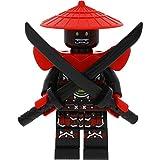 LEGO Ninjago - Figura decorativa de espada de los luchadores de...