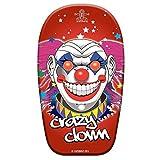 Lively Moments Bodyboard Crazy Clown ca. 82 cm / Body Board / Surfboard / Schwimmbrett mit Horrorclown Gesicht -