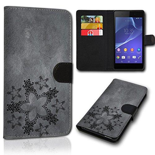 sw-mobile-shop Book Style Wiko Wax Tasche Flip Brieftasche Handy Hülle Kartenfächer für Wiko Wax - Design Flip SVH123