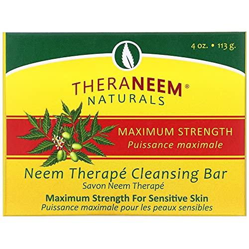 Maximum Strength Neem Oil Soap Organix South 4 oz Bar Soap