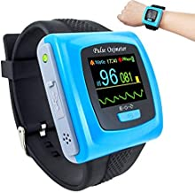 CONTEC CMS50F Wrist watch pulse oximeter heart rate monitor with software USB cable SPO2 Probe …