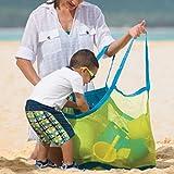ILLUMINET Large Mesh Toy Bag: Beach Tote, Mesh Beach Toy Bag, Mesh Bag Swimming Gear, Toy Bag,...