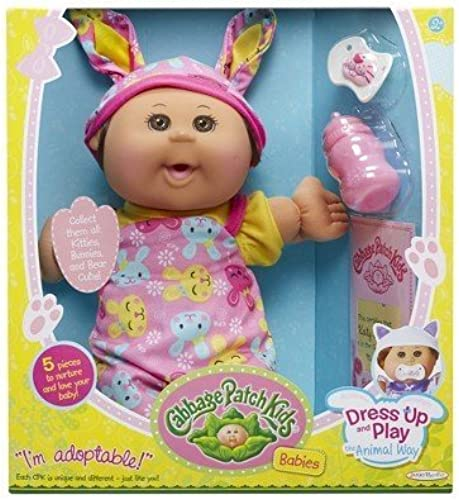 Cabbage Patch Kids Babies Dress up and Play the Animal Way - Bunny by Cabbage Patch Kids