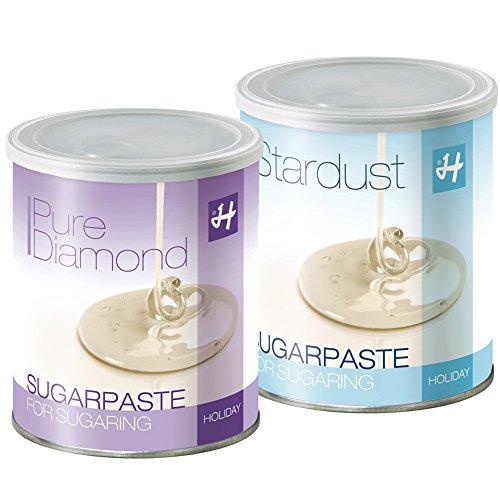 Zuckerpasten Pure Diamond Soft 1 kg Stardust Strong1 kg Sugaring langfristige Haarentfernung ohne Vliesstreifen in der Flickingtechnik