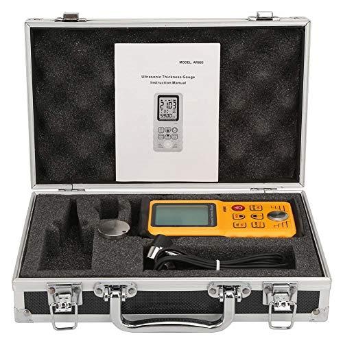 Ultraschall-Dickenmessgerät, SMART SENSOR AR860 LCD-Display Digitales Ultraschall-Dickenmessgerät Tester Messsonde Messbereich 1,0-300,0 mm (Stahl)