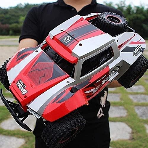 Liiokiy RC Car Charging Off-Road Racing 1:12 Modelo de auto de escalada de alta velocidad Niños RC Vehículo de carrera Bigfoot Coche Modelo de control remoto Modelo de vehículo de carretera para niños