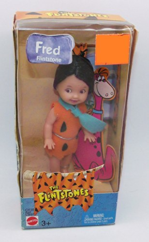 Barbie The Flintstones Kelly Doll TOMMY Fred Flintstone (