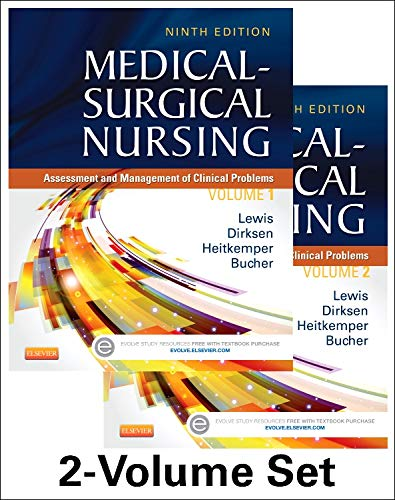 Medical-Surgical Nursing - 2-Volume Set: Assessment and Management of Clinical Problems (Medical- Surgical Nursing (Lewi