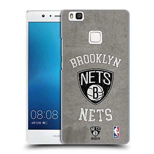 Official NBA Distressed Look 2019/20 Brooklyn Nets Hard Back Case Compatible for Huawei P9 Lite / G9 Lite