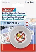 tesa 64621-0000-04 Dubbelzijdig plakband, transparant, 10m:12mm