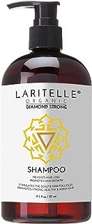 Laritelle Organic Shampoo 17.5 oz. Argan Oil, Ginger, Cedarwood. Promotes Hair Growth, Prevents Hair Loss. GF