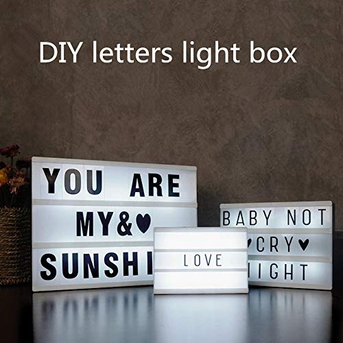 Romote Neue Kombination Nachtlicht BoxLampBLACK Letters Karten USB Port mit Strom versorgt Kino Lightbox