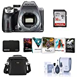 Pentax K-70 24MP Full HD Digital SLR Camera, Body Only, Silver -...