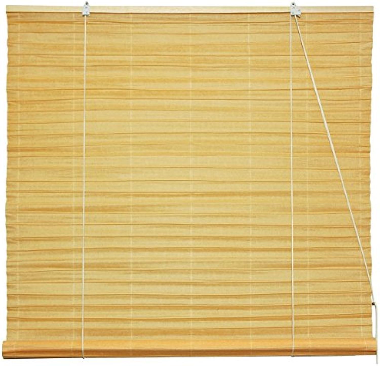 Oriental Furniture Shoji Paper Roll Up Window Blinds, orange, 72-Inch Wide