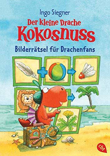 Der kleine Drache Kokosnuss – Bilderrätsel für Drachenfans: Rätsel-Block