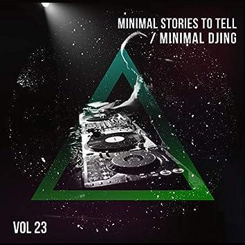 Minimal Djing - Vol.23