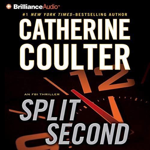 Couverture de Split Second: An FBI Thriller, Book 15