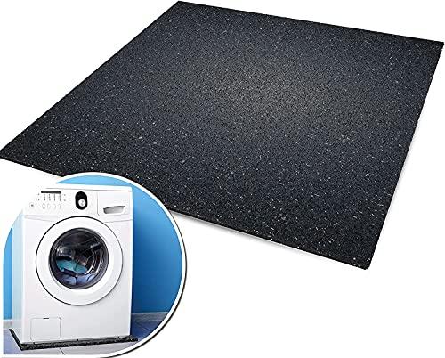 Alfombrilla antivibración para lavadora 60 x 60 x 1 cm.