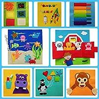 QUIET BOOK (0-24 meses) Libro sensorial Montessori juguete educativo, hecho a mano, estimulación. Se personaliza con el nombre.